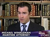 Attorney Michael Winkleman represents a passenger who fell overboard on Fox News.